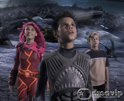"""Sessão da Tarde exibe o filme """"As Aventuras de Sharkboy e Lavagirl"""""""