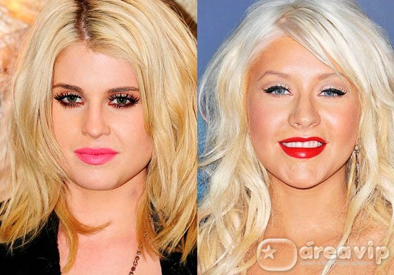 "A briga continua: Kelly Osbourne chama Christina Aguilera de ""vaca gorda"""