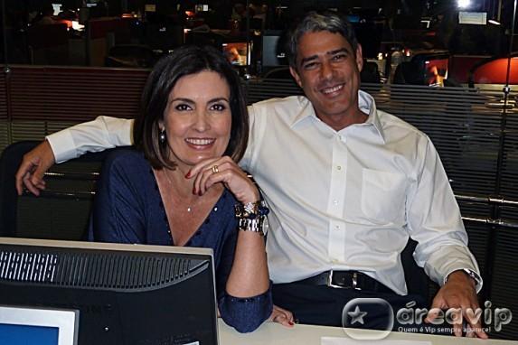 Desgaste no casamento de Bonner e Fátima é assunto proibido na Globo