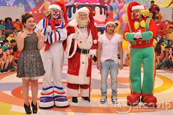 Yudi, Priscilla, Patati e Patatá comandam 'Sábado Animado de Natal'