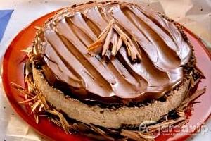 Receita de Torta gelada de Chocolate