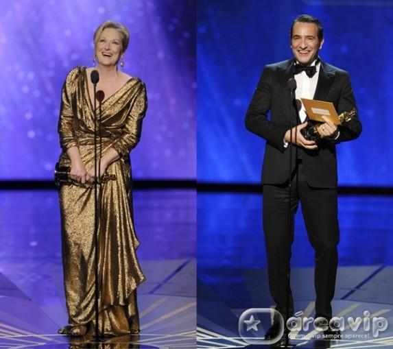 Confira os vencedores do 'Oscar 2012'