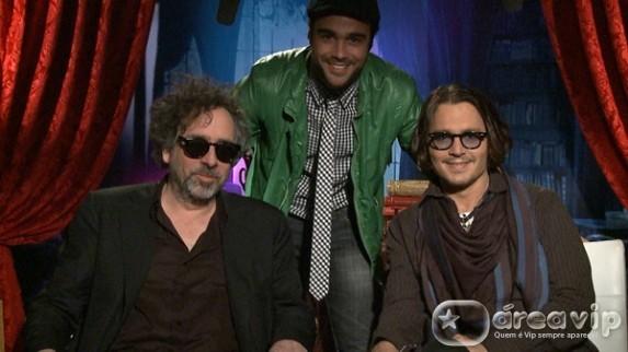 Domingo Legal mostra entrevista exclusiva com o ator Johnny Depp