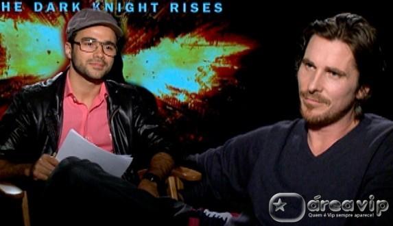 Beto Marden entrevista Christian Bale no 'Domingo Legal'