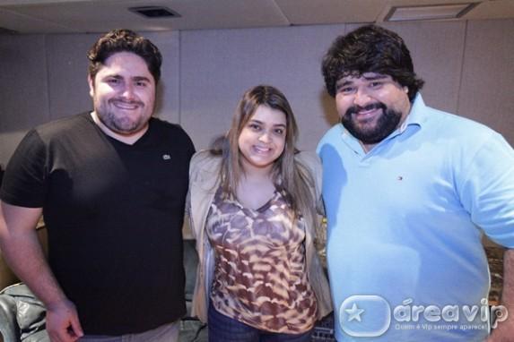 Preta Gil canta música com Cesar Minotti & Fabiano