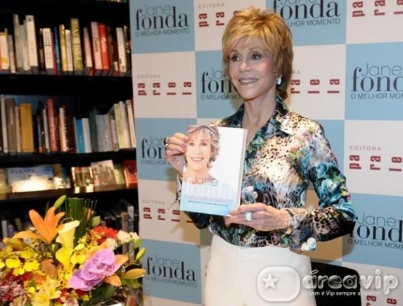Jane Fonda revela que fuma maconha de vez em quando