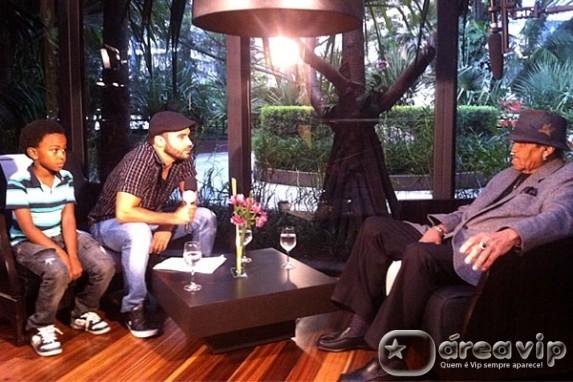 Domingo Legal mostra o encontro de Jean Paulo, o Cirilo com Joe Jackson