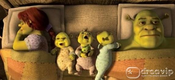 """Tela Quente exibe o filme inédito """"Shrek para Sempre"""""""