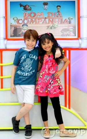 Ana Julia é a nova companheira de Matheus Ueta no Bom dia & Cia