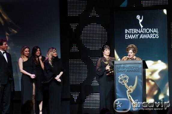 'Joia Rara' recebe prêmio de melhor novela na 42a edição do Emmy Internacional