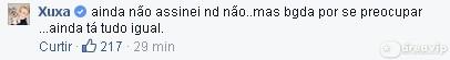 Reprodução/Facebook/Xuxa