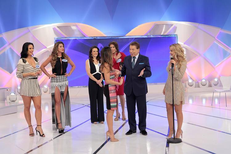 """Silvio Santos recebe Eliana, Patricia, Helen e Lívia no """"Não Erre a Letra"""" – Confira as melhores frase do programa!"""