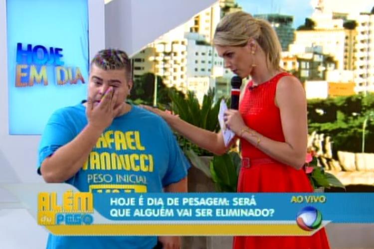 Rafael Vanucci chora e pensa em desistir na segunda semana do 'Além do Peso'