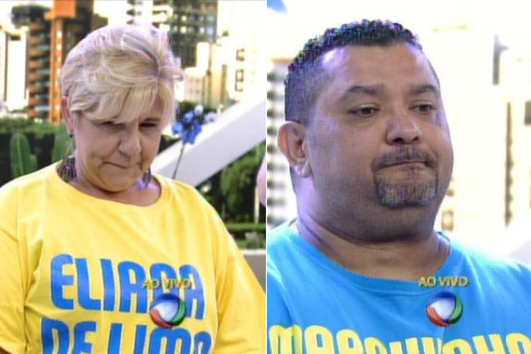 Eliana de Lima e Marquynhos Sensação são eliminados do 'Além do Peso'