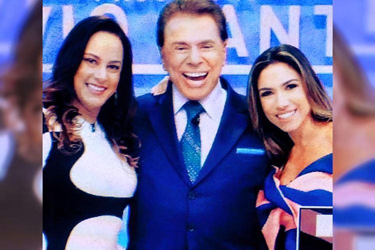 Silvia Abravanel - Silvio Santos - Patricia Abravanel (Reprodução/Facebook/SilviaAbravanel)