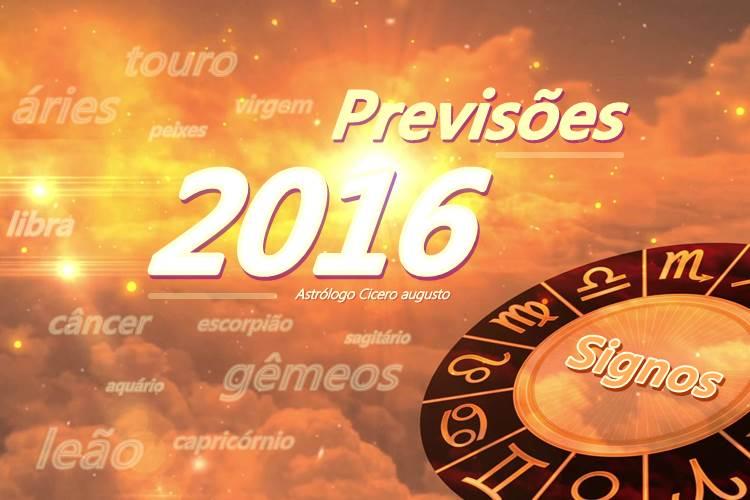 Previsoes dos Signos 2016