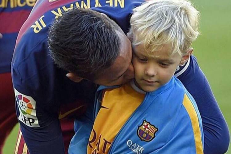 Neymar e David Lucca Pra não dizer que não falei do Neymar...