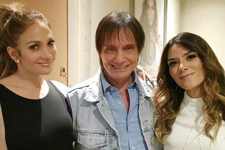 Roberto Carlos aparece ao lado de Jennifer Lopez em click