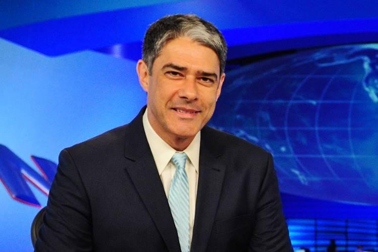 William Bonner (Reprodução/Globo/João Cotta)