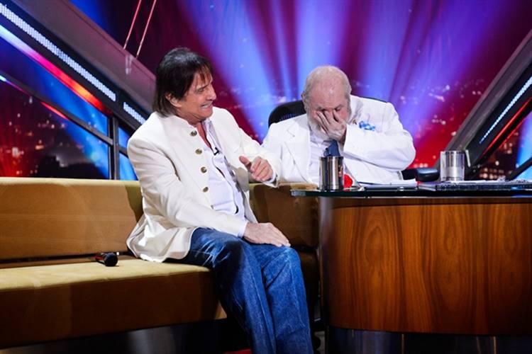 Jô chora em programas com Roberto Carlos e João Carlos Martins