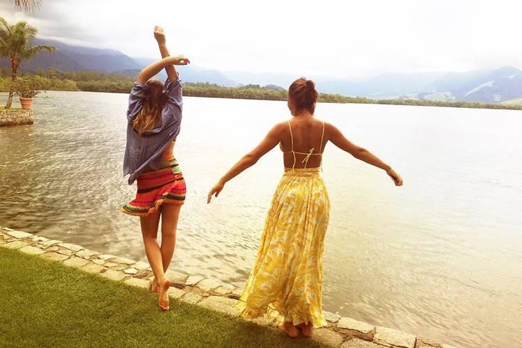 Bruna Marquezine e Sasha (Instagram)