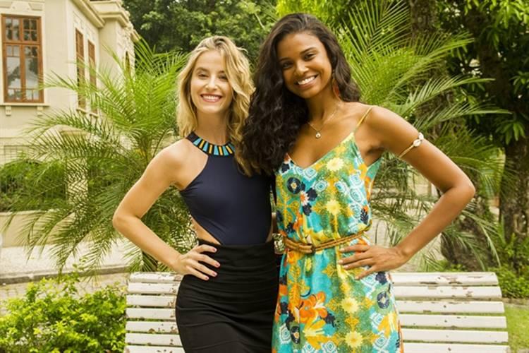 Malhação: Joana e Bárbara disputam concurso de beleza