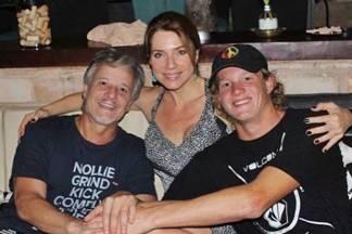 Marcello Novaes e Leticia Spiller com o filho Pedro Novaes - Reprodução/Instagram/Foto:Anny Ribeiro/Gshow