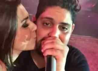 Vivian do BBB17 e o cantor Jorge (Instagram)