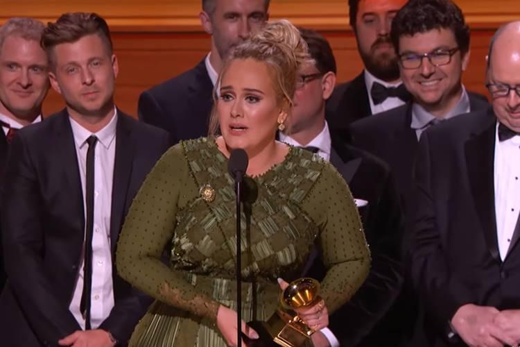 Adele é a grande vencedora do Grammy 2017 – Veja a lista dos vencedores!