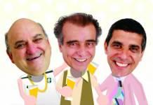 Comédia Três Homens Baixos