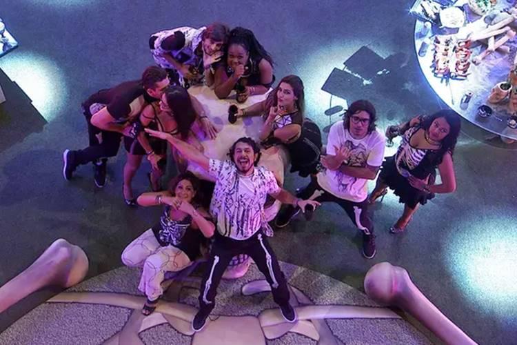BBB17 - Festa Ossos (Reprodução/TV Globo)