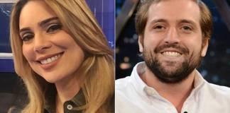 Rachel Sheherazade e Gregório Duvivier (Instagram/Globo/Zé Paulo Cardeal)