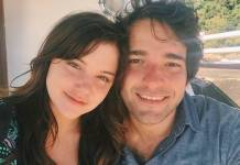 Alice Wegmann e Humberto Carrão/Instagram