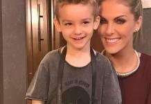 Ana Hickmann com o filho/Instagram