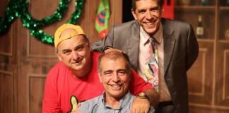 Atores da comédia Três Homens Baixos / Divulgação