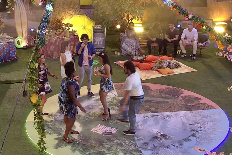 BBB17 - Brothers curtem festa 4 estações (Reprodução/TV Globo)