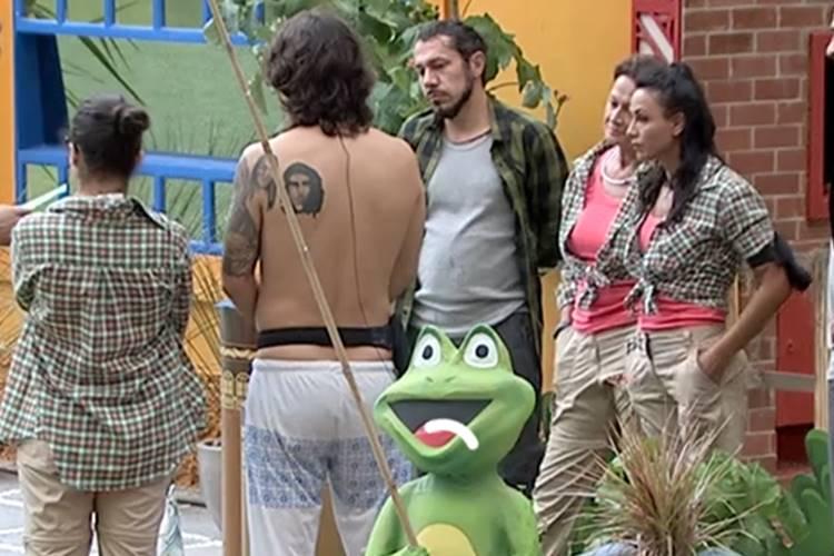 BBB17 - Castigo do Monstro (Reprodução/TV Globo)