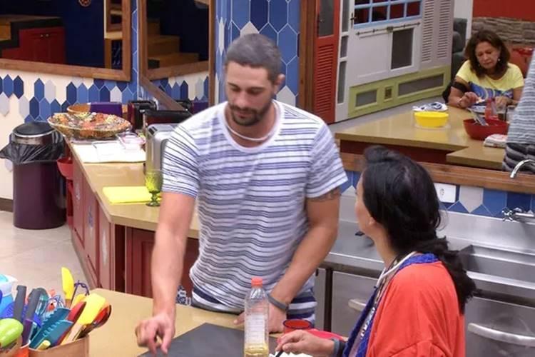 BBB17 - Daniel e Marinalva  (Reprodução/TV Globo)
