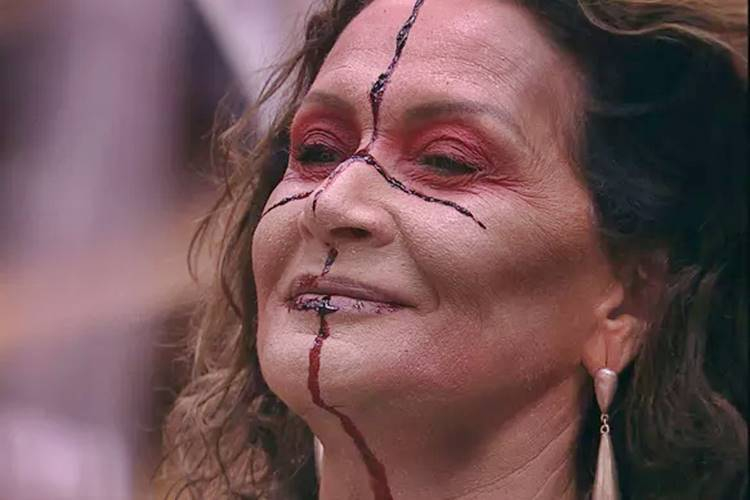 BBB17 - Festa Zumbi - Ieda (Reprodução/TV Globo)
