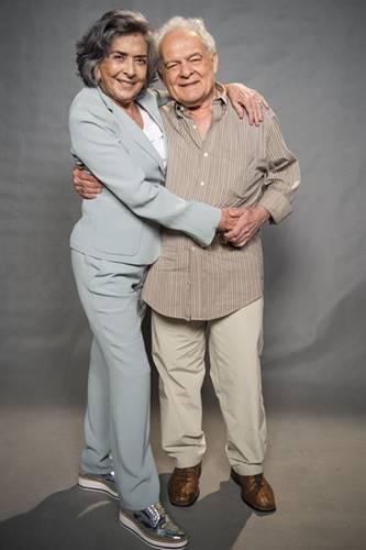 Betty Faria e Othon Bastos (Globo/Mauricio Fidalgo)