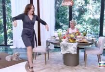 Claudia Raia dançando (Reprodução/TV Globo)