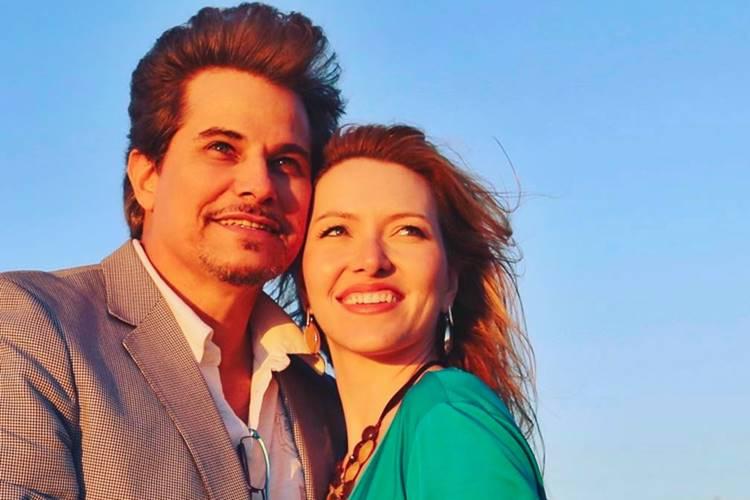 Edson Celulari e Karin Roepke/Instagram