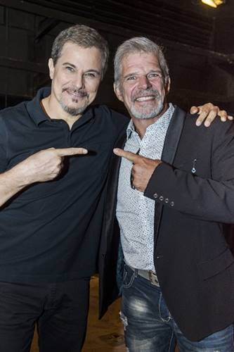Edson Celulari e Raul Gazolla (Globo/Mauricio Fidalgo)