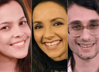 Emilly, Mari e Pedro - BBB17 / TV Globo
