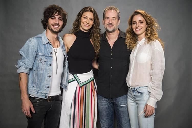 Fiuk - Maria Fernanda - Dan - Carol Duarte ( Globo/Mauricio Fidalgo)