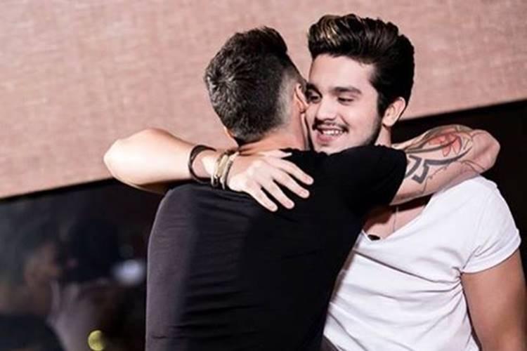Gusttavo Lima e Luan Santana/Instagram