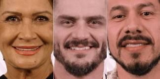 Ieda, Marcos e Romulo - BBB17 / TV Globo