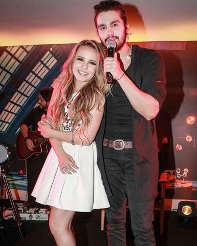 Larissa Manoela e Luan Santana/Instagram