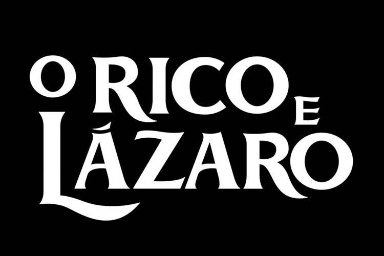 Logo - O Rico e Lázaro (Munir Chatack/ Record TV)