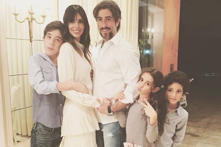 Marcos Mion com a família/Instagram